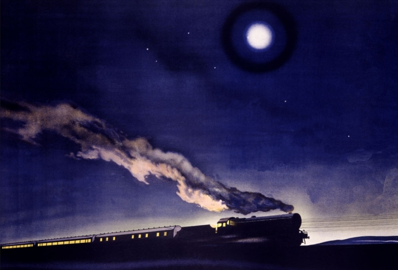 norman-wilkinson-lms-railway-night-train-scotland